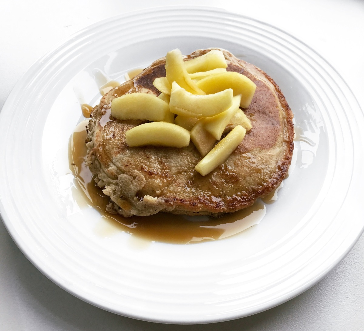 Apple & Maple Protein Pancakes
